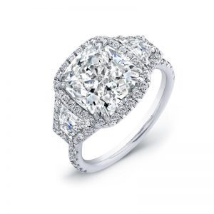 4 Carat Diamond Cushion