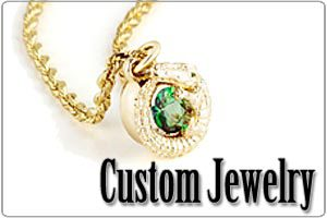 Custom Jewelry Earrings Pendants