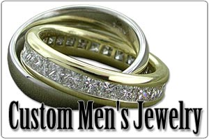 Custom Men's Jewelry