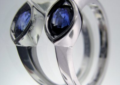 Sapphire Mothers Ring