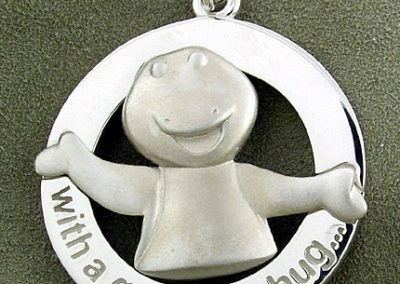 Barney Silver Pendant