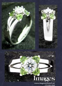 Peridot Custom Ring