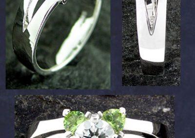 Peridot Custom Ring