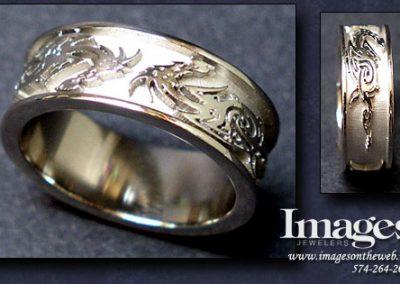 Tribal Dragon Ring