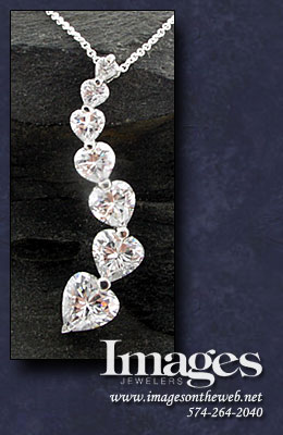 Journey of the Heart Diamond Pendant
