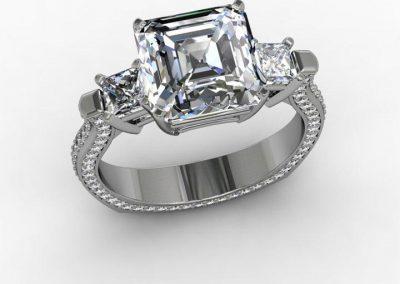 Ascher Engagement Ring