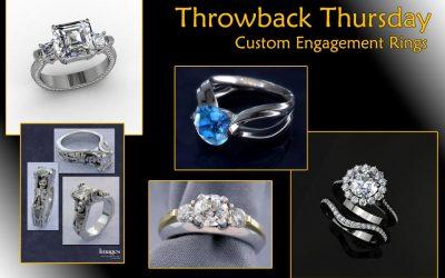Throwback Thursday: Custom Engagement Rings