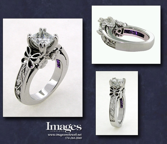 Hidden Amethyst Ring