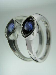 Sapphire Mother's Ring
