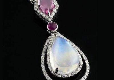 Custom Moonstone Pendant