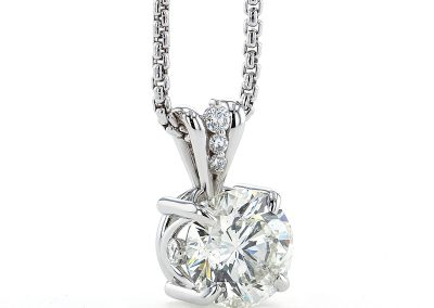 4.85ct Diamond Pendant