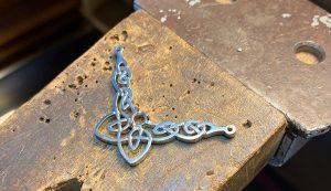 Celtic Pendant Casting