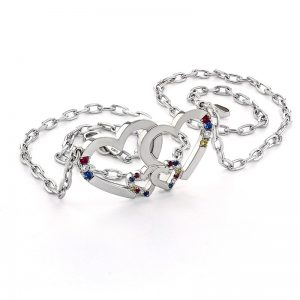 Intertwined Hearts Pendant