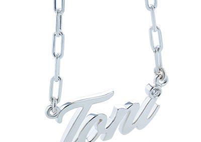Toni Custom Name Pendant