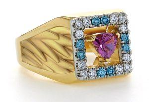Men's Montana Sapphire Ring